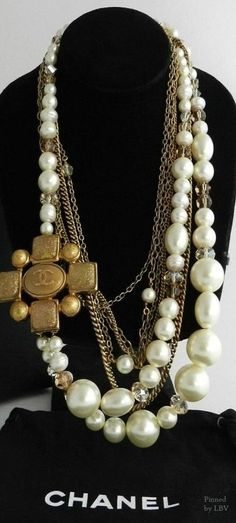➗Chanel Pearls | necklace