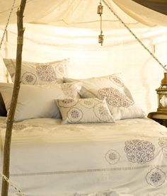 morroccan style linen