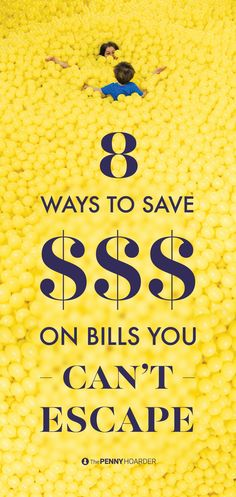 You've done what you can do to cut back your spending. Here's how to save money on expensive monthly bills that you just can't escape.