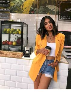 Spring/ Summer Outfit Inspiration # Fashion summer 44 Trendy Summer Outfits Ideas for Women Street Style Modern Street Style, Look Street Style, Street Style Women, Street Styles, Street Style Fashion, Casual Street Style Summer, Summer Street Fashion, Summer Fashion Trends, Spring Street Style
