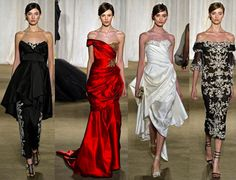 Fall 2013 New York Fashion Week: Marchesa