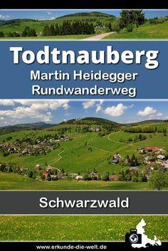 Der Martin Heidegger Rundweg rund um Todtnauberg im Schwarzwald ist ein Wanderweg idealer Länge für Familien und Ausflügler, die einfach nur die Schönheit des Schwarzwaldes genießen wollen, ohne dabei gleich einen ganzen Tag unterwegs zu sein.