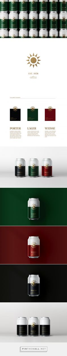 Kazakhstan's Premium Beer Packaging by Andriy Muzichka | Fivestar Branding Agency – Design and Branding Agency & Curated Inspiration Gallery