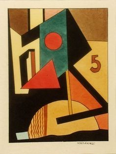 .Architectural Structures (1925). Lajos Kassák (1887-1967) was a Hungarian poet, novelist, painter, essayist, editor, theoretician of the avant-garde, & occasional translator. He was among the 1st genuine working-class writers in Hungarian literature. Although he cannot be fully identified with any single avant-garde movement, he adopted elements of expressionism, futurism and dadaism