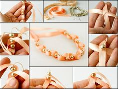 DIY Bracelet - #art, #diy, craft