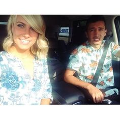 Tyler joseph & Jenna Black|| I love this picture because we all know at one point in time we have all made this face for a picture|| Tyler is all of us <3
