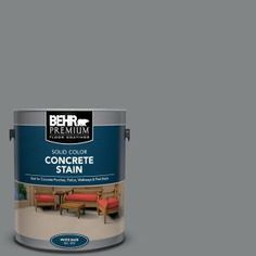 Slate Gray Solid Color Flat Interior/Exterior Concrete - The Home Depot Concrete Porch, Concrete Lamp, Stained Concrete, Concrete Countertops, Concrete Floors, Plywood Floors, Laminate Flooring, Flat Interior