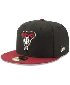 New Era Arizona Diamondbacks Batting Practice Diamond Era 59FIFTY Cap - Black 7 5/8