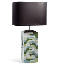 LLADRO - ESTRATOS - LARGE LAMP (GREEN) - CE