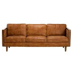 Farrington Outback Leather Sofa | Chairs | Living Room