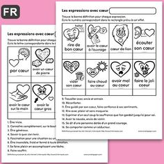 Core French, French Class, Saint Valentine, Valentines, Amelie Pepin, Cycle 3, Anti Bullying, Expressions, Teaching French