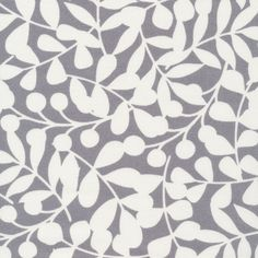 134650 Branch | Gray Canvas from First Light by Eloise Renouf for Cloud9 Fabrics