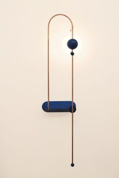 Node wall lamp vertical - on