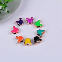 8+Color+Each+Color+50pcs+10x4mm+Mixed+Color+by+Handworkaccessory,+$12.34