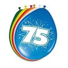 Ballonnen 75 jaar, 8st. Unicorn Balloon, Number Balloons, Balloon Garland, Balloon Arch, Lego Ninjago, Happy Birthday Balloons, 75th Birthday, Colourful Balloons, Birthday