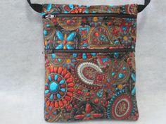 Cross Body Bag Sling Purse Travel Purse Shoulder Purse by jcobags, $20.00