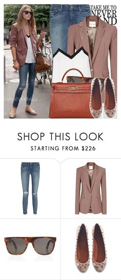 1180. Celebrity Style: Olivia Palermo by chocolatepumma on Polyvore featuring Reiss, Paige Denim, Marc by Marc Jacobs, RetroSuperFuture, TIBI, Hermès and Oris