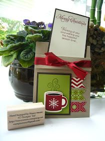 Stampin' All Night: Christmas In July Card #4