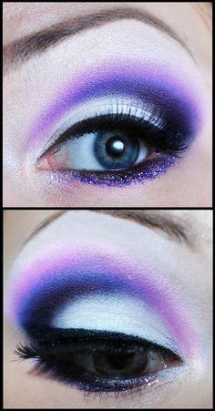 Purple snow by M00N-flower.deviantart.com on @deviantART