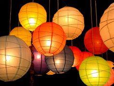 Lampionnen te koop in verschillende maten en kleuren - In Style Styling & Decoraties