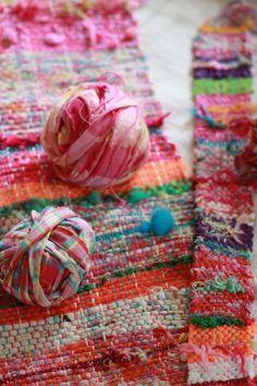 Sakiori  KORON007 {Saki = split + Ori = weaving – a traditional Japanese technique of weaving with rags}