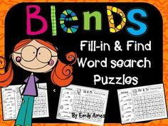 Blend Short Vowels Fill-In & Find Wordsearch PACKET These puzzles are NO PREP and fun! Students won't even know they're practicing their phonics. Instead of just circling words as in normal word search puzzles, students will look at the pictures given, fi Smart Board Activities, Word Work Activities, Literacy Activities, Teaching Resources, Spelling Practice, Vocabulary Practice, Bell Work, Word Search Puzzles, Phonics Words
