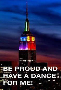 Happy Pride Weekend New York City!