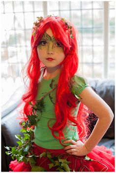 Poison Ivy World Book Day costume