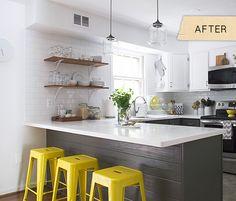 reforma fácil de cocina reforma cocina con pintura pintar cocina cocinas blancas modernas cocina blanco negro cocina americana reforma blog ...