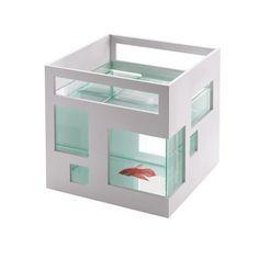 Umbra Fishhotel Vissenkom 19 x 20 cm - Wit