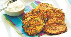 Tempt the fussy eaters with crispy batches of golden vegetable fritters.