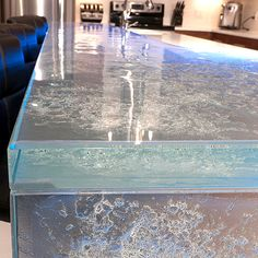 Thermoformed Glass Kitchen Countertops