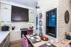 Декоративный камень на кухне. 25 вариантов применения - Сундук идей для вашего дома - интерьеры, дома, дизайнерские вещи для дома
