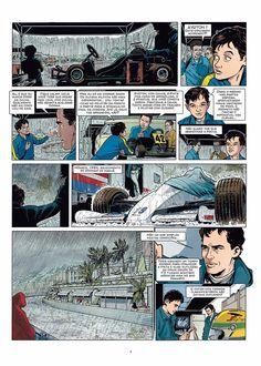 A HQ apresenta momentos pivotais, como o encontro e amizade com Emerson Fittipaldi, a rivalidade com o companheiro de McLaren (e depois rival da Ferrari) Alain Prost, a primeira vitória em Interlagos, o tricampeonato mundial vencido no Japão e a morte em Ímola
