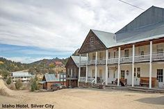 Idaho Hotel, Silver City, ID, USA