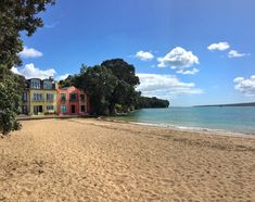 Devonport Beach New Zealand Auckland, New Zealand, Waterfall, Mansions, House Styles, City, Beach, Seaside, Luxury Houses