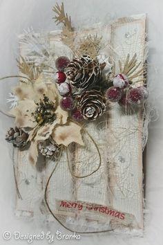Branka at Vintage Handmade Christmas Hacks, Diy Christmas Cards, Holiday Cards, Christmas Crafts, Christmas Decorations, Christmas Ornaments, Xmas Theme, Diy And Crafts, Paper Crafts
