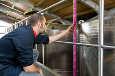 We check every single step of the production of our #wine #umbertocesari #winery #italy