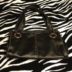 Black studded purse Sag harbor black studded purse. Bags