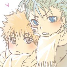 Ichigo & Grimmjow