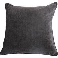 Clooney Toss Charcoal - buy in Urban Barn Tossed, Pewter, Pillow Covers, Charcoal, Cushions, Throw Pillows, Interior Design, Urban Barn, Decorating
