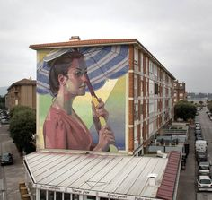 Somo,Cantabria, Spain: new pieces by Spanish artist Aryz.