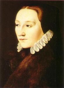 Lady Frances Brandon daughter of Mary Tudor and mother of Lady Jane Grey.