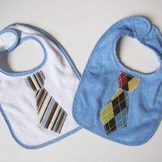 Tie Baby Bibs how freakin cute!