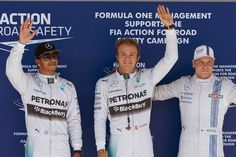 Rosberg pulls off the pole!