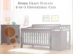 Stork Craft Tuscany 4-in-1 Convertible Crib, Espresso Ultimate Guide & R...