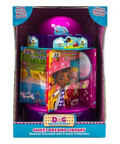 Look at this #zulilyfind! Doc McStuffins Sweet Dreams Library Carousel by Disney #zulilyfinds