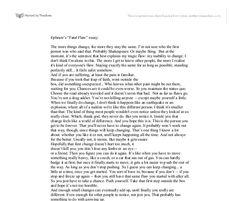 """My Fatal Flaw"" by Ephram Brown -- Everwood <3"
