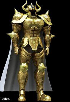 Taurus - Full Armor Pepakura File on Onekura. Make your own costumes and accessories.