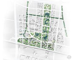 上海桃浦科技城规划/ Ennead第2张图片